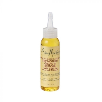 Shea Moisture Jamaican Black Castor Oil Strengthen Grow & Restore Hair Serum 57ml/2oz.