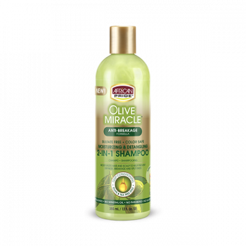 African Pride Olive Miracle 2IN1 Shampoo 355g/12 fl. oz.