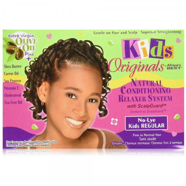 Africa's Best   Kids Organics Relaxer Kit Regular Twin Pack