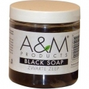 A&M Products Black Soap Zwarte Zeep 200g